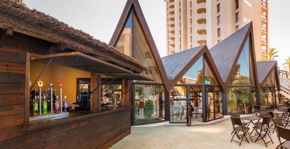 'tropical splash' Закусочная Апарт-отель magic tropical splash бенидорме